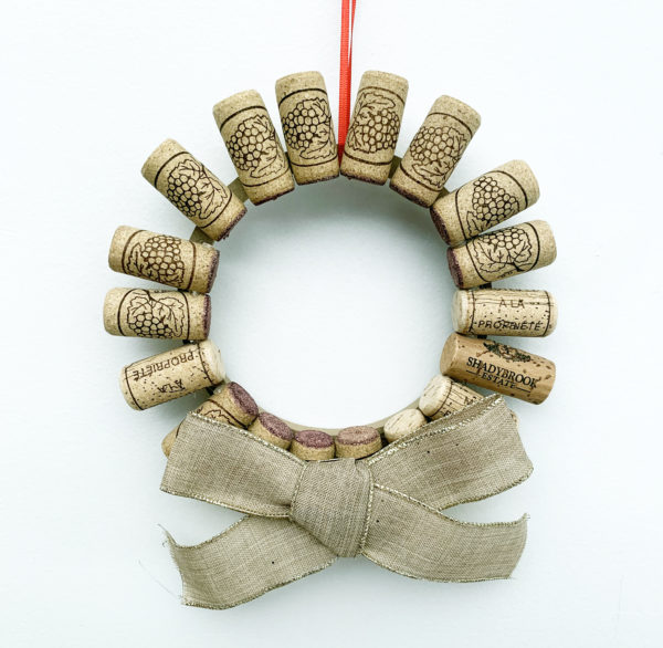 QuarantWine Bar Wreath